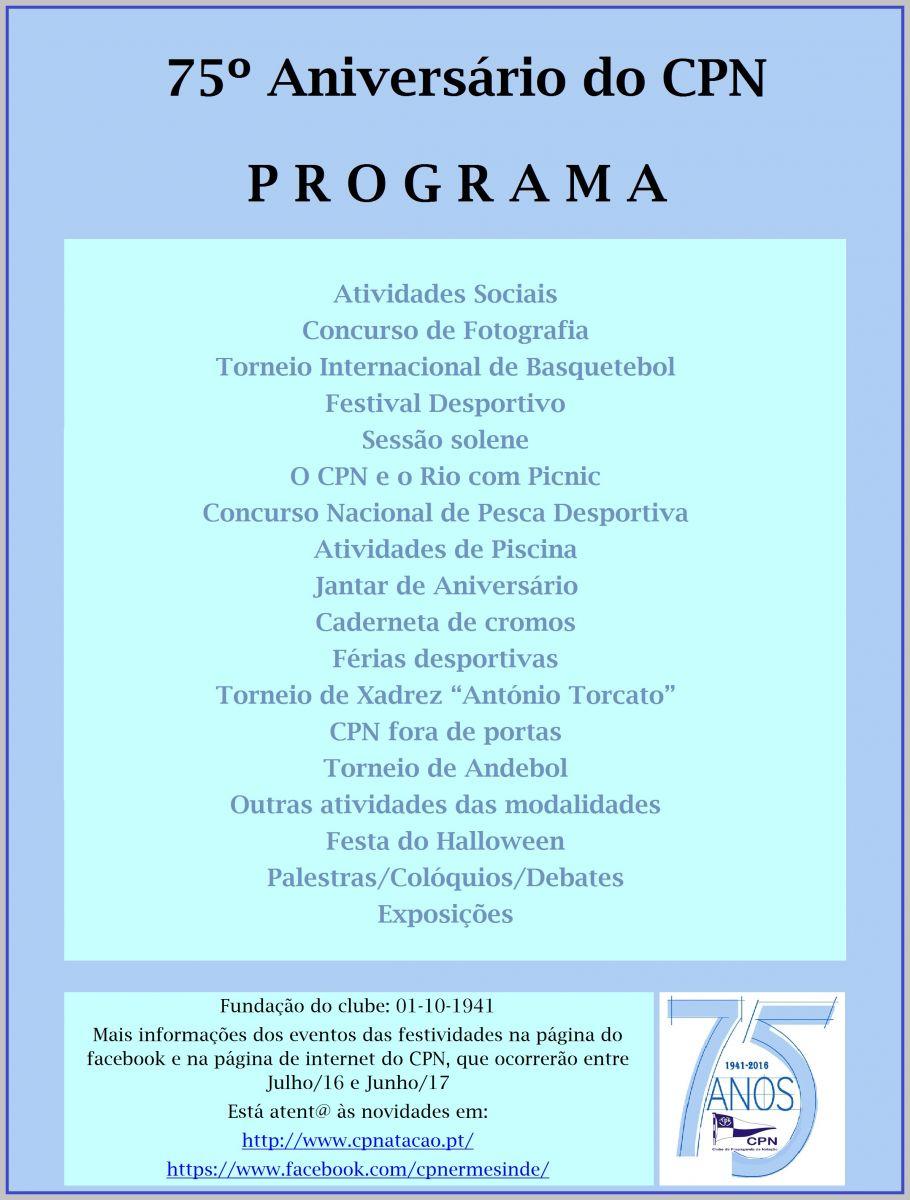 Programa Provisório